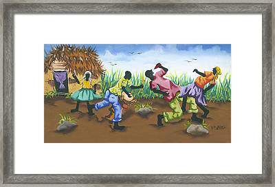 Partying Framed Print by Herold Alveras