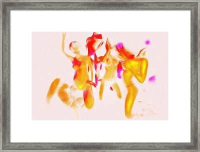 Partytime Framed Print by Steve K