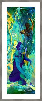Pas De Deux Framed Print by Anne Weirich