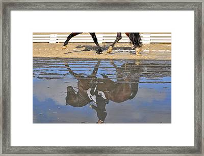 Pas De Deux Reflected Framed Print by JAMART Photography