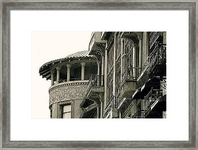 Pasadena's Castle Green Framed Print by Jan Cipolla