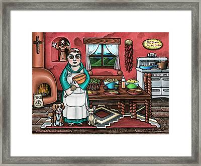 Pascuals Pups Framed Print