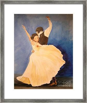 Pasion Gitana Framed Print by Lizzy Forrester