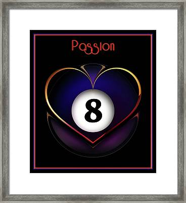 Pasionate8 Framed Print by Draw Shots