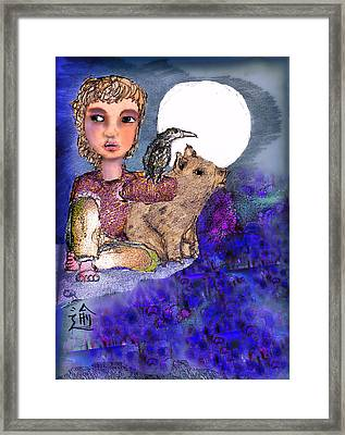 Pass By Framed Print by Cynthia Richards