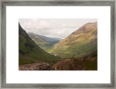 Pass Of Glencoe II Framed Print