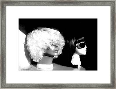 Pass The Sunnies Framed Print by Jez C Self
