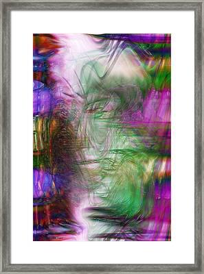 Passage Through Life Framed Print by Linda Sannuti
