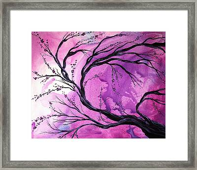 Passage Through Time By Madart Framed Print by Megan Duncanson