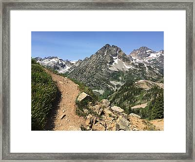 Passage To Paradise Framed Print by Mitchell McClosky