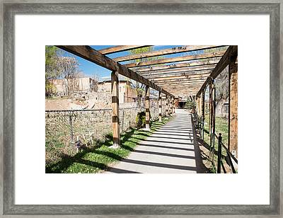 Passage To Sanctuary Framed Print