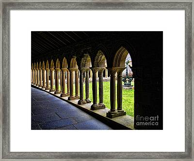 Framed Print featuring the photograph Passage To The Ancient by Roberta Byram