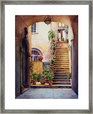 Passages Back In Time Framed Print by Sue Zimmermann