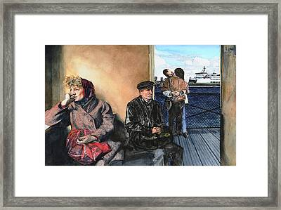 Passages Framed Print by Perry Woodfin