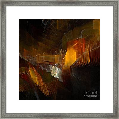 Passenger Framed Print by Flavio Coelho