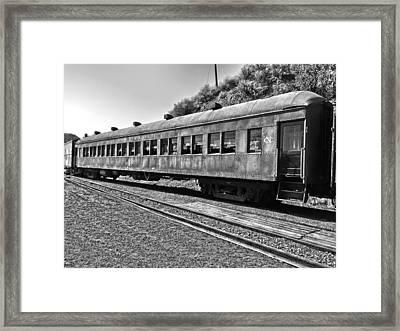 Passenger Ready Framed Print