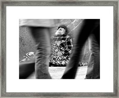 Passersby Framed Print by Todd Fox