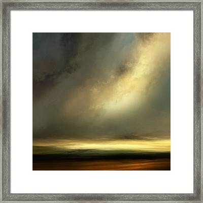 Passign Through Framed Print