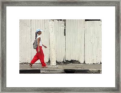 Passing 3 Framed Print by Jez C Self