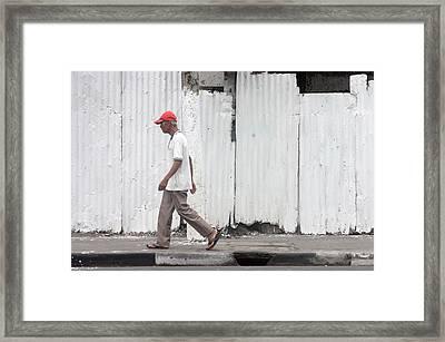 Passing 5 Framed Print by Jez C Self