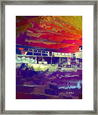 Passing Attraction Framed Print