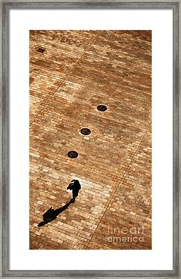 Passing By Framed Print by Christian Hallweger