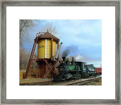 Passing By Framed Print by Ken Smith