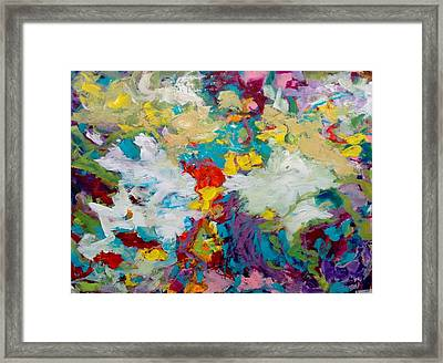 Framed Print featuring the painting Passing By by Nicolas Bouteneff