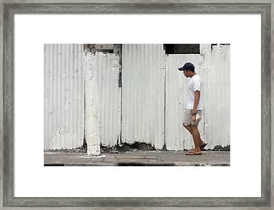 Passing Framed Print by Jez C Self