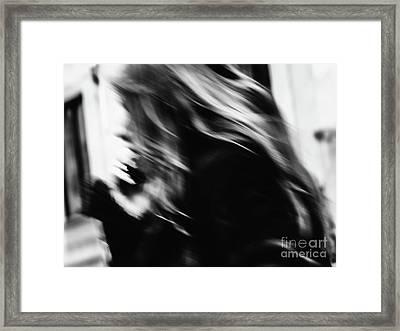 Passing Framed Print