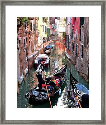 Passing Lane Framed Print by Frozen in Time Fine Art Photography