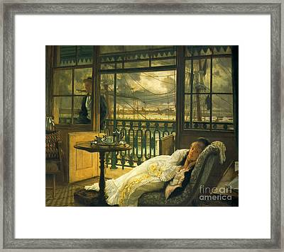 Passing Storm 1876 Framed Print