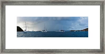 Passing Storm Framed Print by Adam Romanowicz
