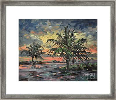Passing Storm Framed Print by Donald Maier