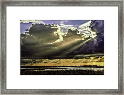 Passing Storm Framed Print by Rogermike Wilson
