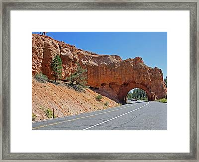 Passing Through Bryce Framed Print by Kami McKeon