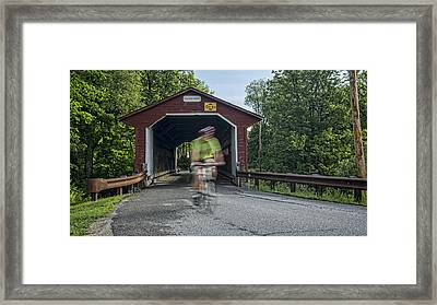 Passing Through Framed Print by Stephen Stookey