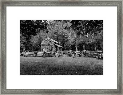 Passing Through The Cove Framed Print