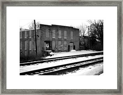 Passing Through Time Framed Print by Rachel Minniear