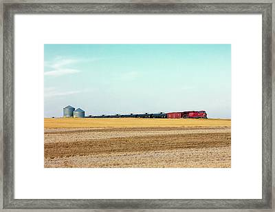 Passing Through Framed Print by Todd Klassy