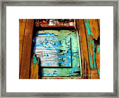 Passing Time 1 By Darian Day Framed Print