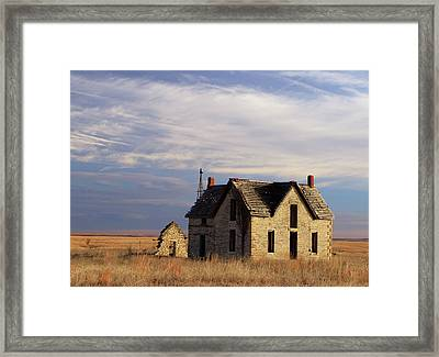 Passing Time Framed Print by Christopher McKenzie
