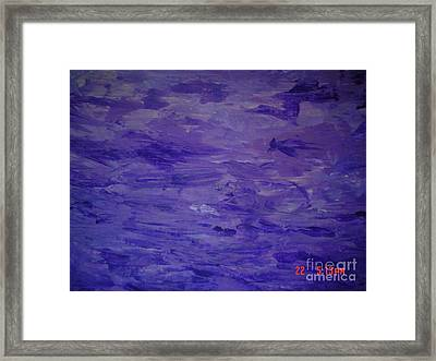 Passion 1 Framed Print by B Bonner