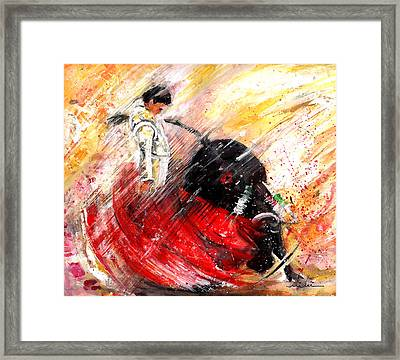 Passion And Motion Framed Print