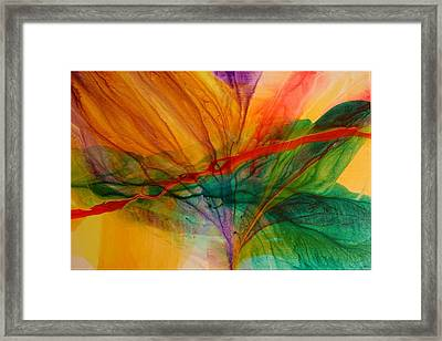 Passion Framed Print by Andy Morris