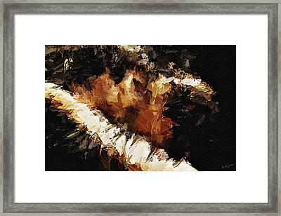 Passion Framed Print by Ayse Deniz