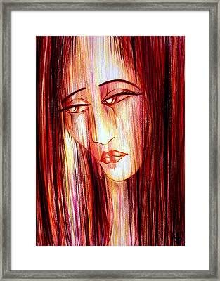 Passion Draining Framed Print