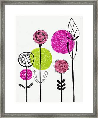 Passion Flowers Framed Print by Lisa Noneman