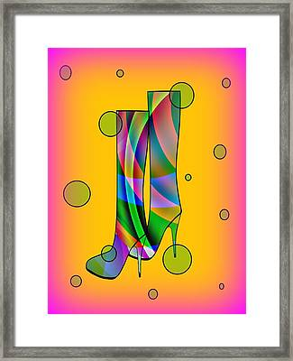 Passion For Fashion Framed Print