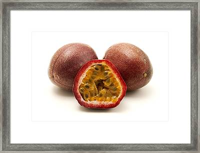 Passion Fruits Framed Print